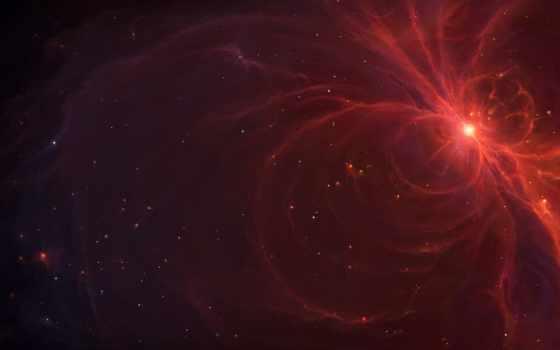 волны, туманность, космос, арт, звезда, tylercreatesworlds, энергия, картинка,