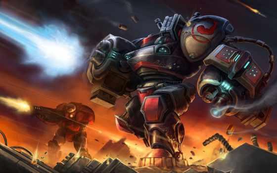 starcraft, терран, оружие