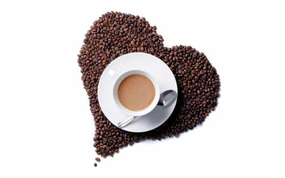 coffee, картинка, зерна