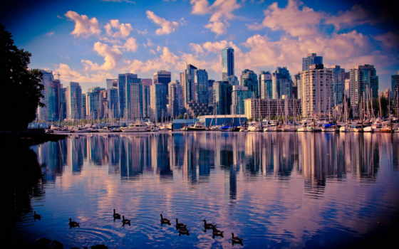 vancouver, канада, побережье
