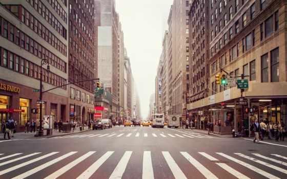 город, new, york, улица, streets,