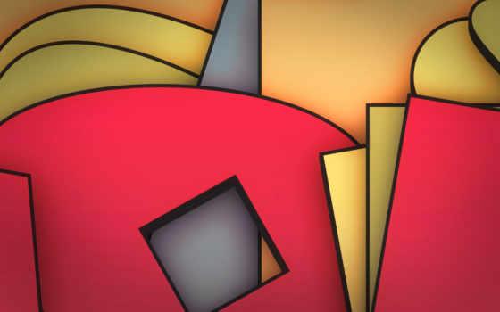 фигуры, абстракция, формы, абстракции, forms, figures, геометрия,