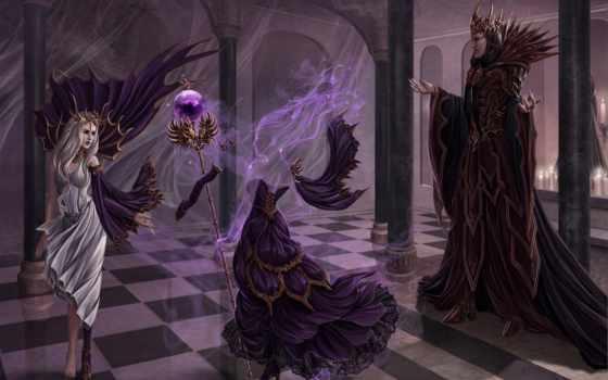 art, abyss, fantasy, трансформация, ghost, deviantart, irulana, castle,