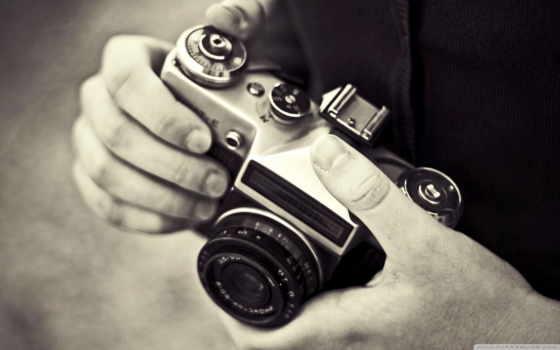как раньше фотографировали?