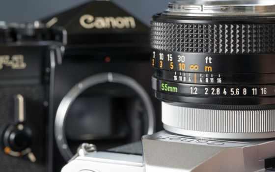 фотоаппарат, объектив, canon
