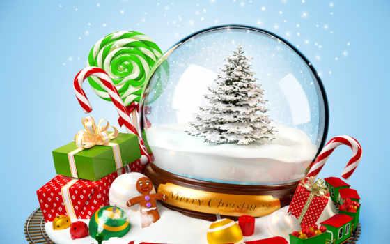 игрушки, год, new, ёлкой, дерево, сувениры, подарками, санях, иней, дед, railroad, новогодней, праздники, шар,