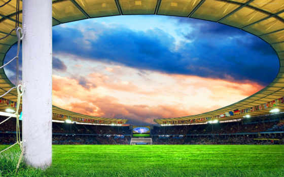 футбол, поле, спорт
