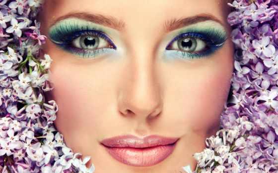макияж, глаз, зелёных, ресницы, свет, сделать, макияжа, модель, губы, фотосессии, взгляд,