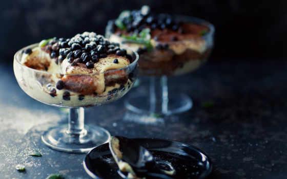 десерт, десерты, разное, вкусные, one, click, ягодами,