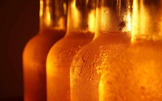 пиво, бутылки
