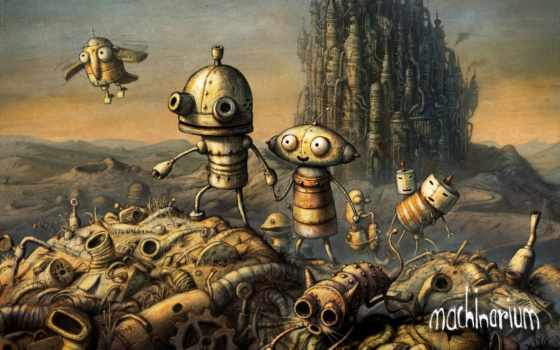 machinarium, game, quest, машинариум, студией, amanita,
