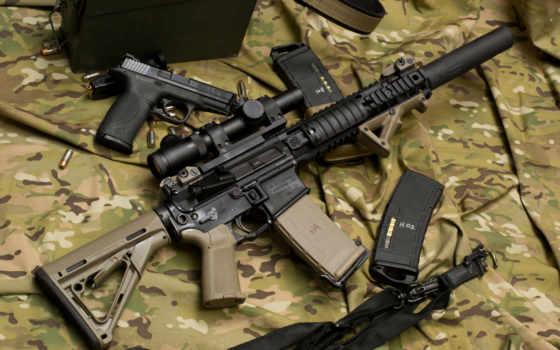 винтовка, оружие, штурмовая, акпп, larue, tactical, камуфляж, полуавтоматичес, пистолет, optics, штурмовые, глушитель
