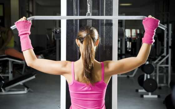 зале, тренажерном, упражнения, девушек, программа, тренировок, женщин, упражнений, любой, perform,