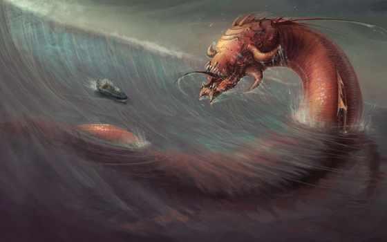 которые, monster, subnautica, легенды, сказочные, греков, древних, мифы, zhivotnye, сказки, июнь,