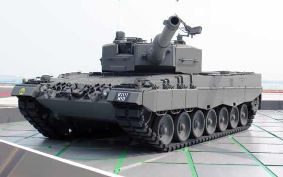 leopard, танк
