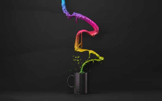 flow, cup