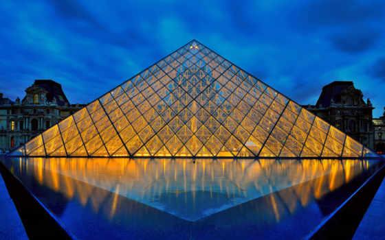 louvre, париж, франция Фон № 109489 разрешение 1920x1200