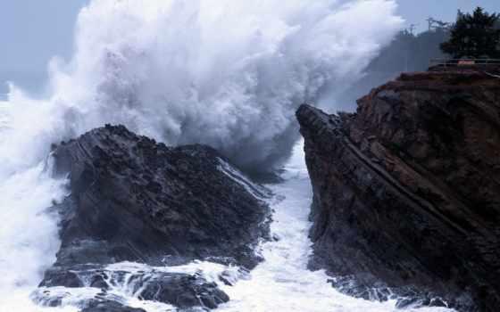 oregon, побережье, pinterest, bay, берегов, об, best, coos, images, waves,