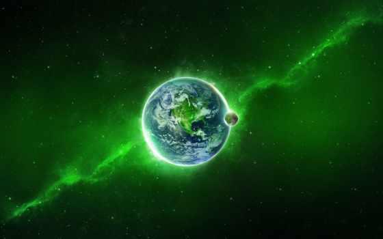 planet, land, cosmos, art, звезды, спутник, планеты, fantasy,