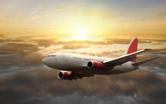 самолёт, небо, солнце Фон № 37895 разрешение 2560x1600