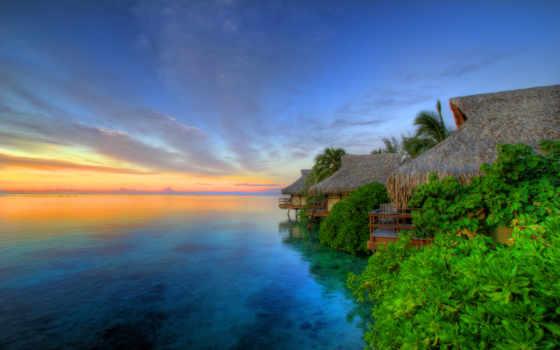tahiti, острова, остров