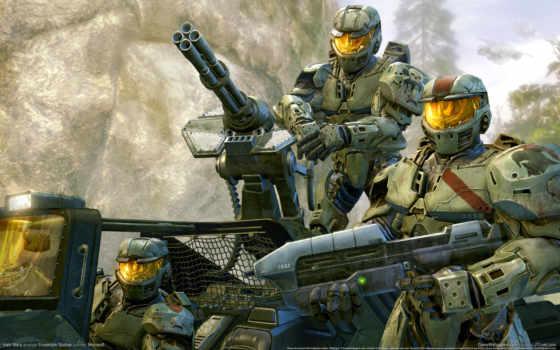 halo, wars, игры, оружие, доспех, воин, ecran, game,