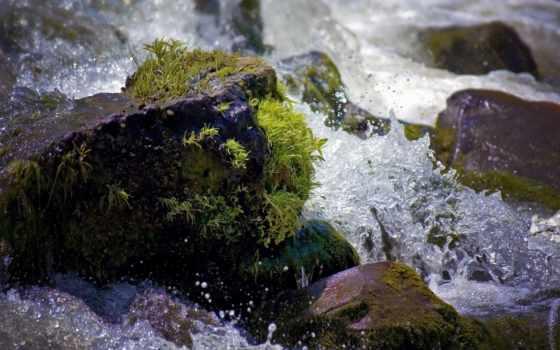 камень, воде, water, камни, брызги, спа, ароматерапия, бамбук, iphone, свечи,