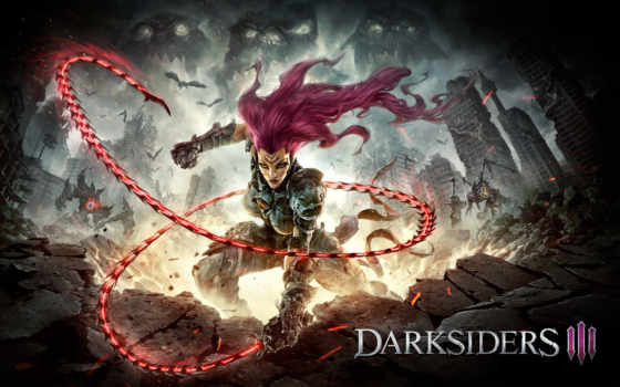 video, game, games, игры, выхода, iii, darksiders, announcement, gunfire,