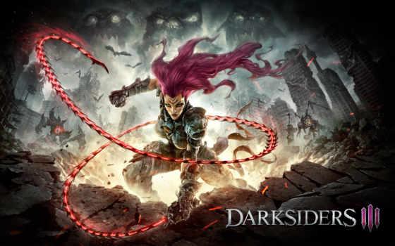 darksiders, games, gunfire, iii, игры, выхода, дата, announcement, game, video,