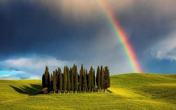 коллекция, погода, радуга