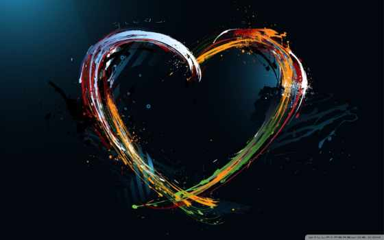 серце, клипарт, брызги