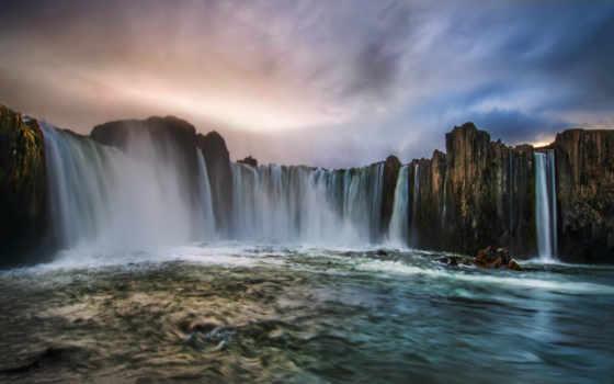 iceland, islande, godafoss, исландии, cascades, впечатления, водопад, chutes, фотографий, страны,