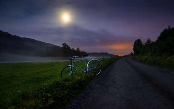 велосипед, дорога Фон № 57360 разрешение 1920x1080