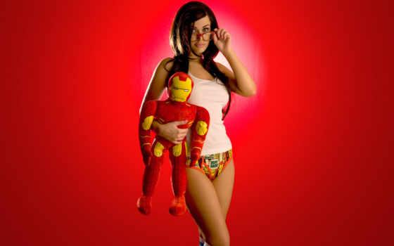 девушки, сексуальные, супергерои