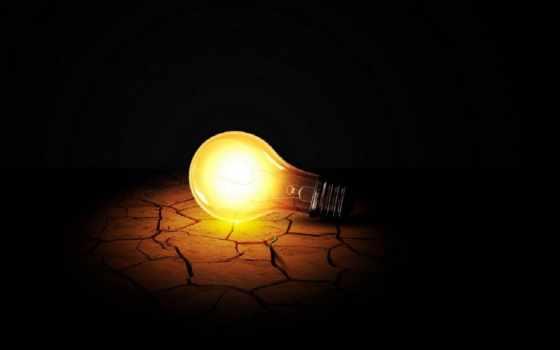 лампа, свет, лампочка
