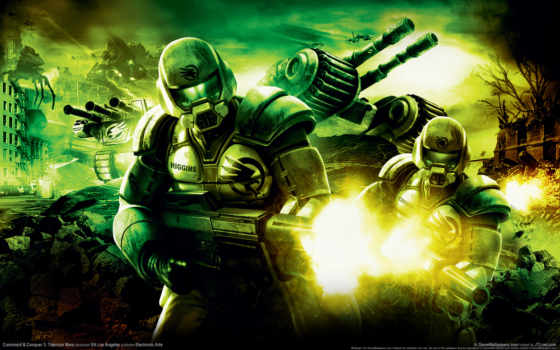 conquer, command, tiberium, wars, дек,