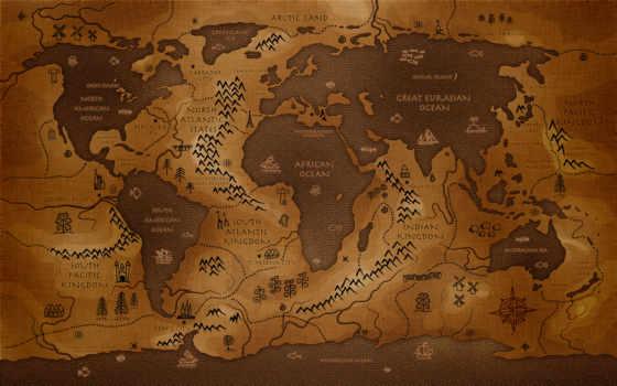 мира, map, древняя