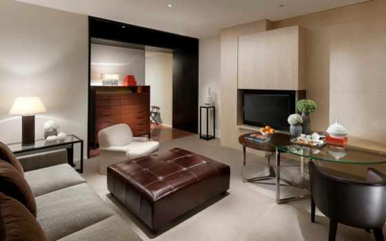 браун, интерьер, design, стиль, lounge, бежевый,