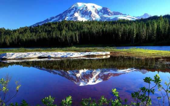 путешествия, горы, puzzle, seattle, online, vacation, природа,