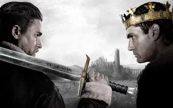 короля, charlie, artura, лоу, promo, меч, king, сказание, ханнэм, arthur, джуд,