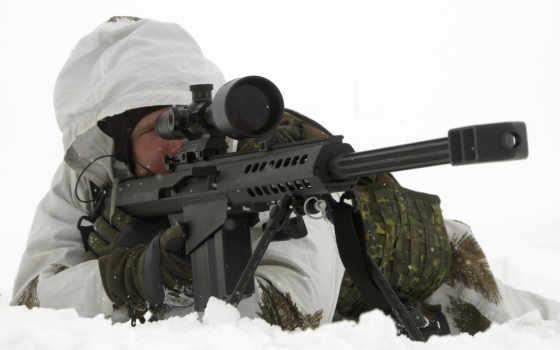 винтовка, снайперская