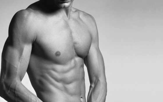 торс, мужчина, мышцы