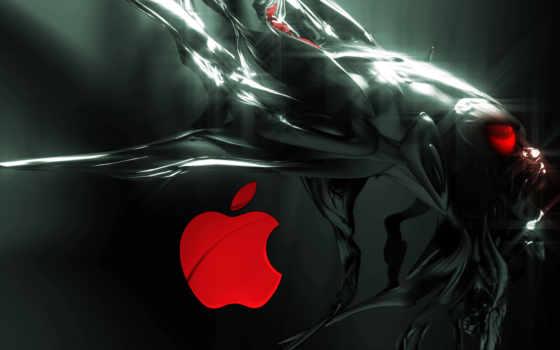 компьютер, alien, apple