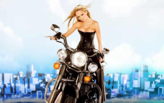 devushki, красивые, мотоциклы