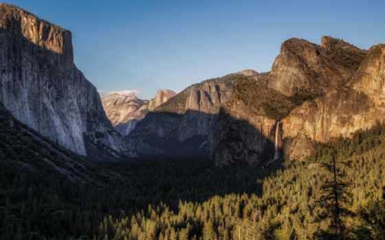 yosemite, park, national, природа, california, скалы, долина, macos,