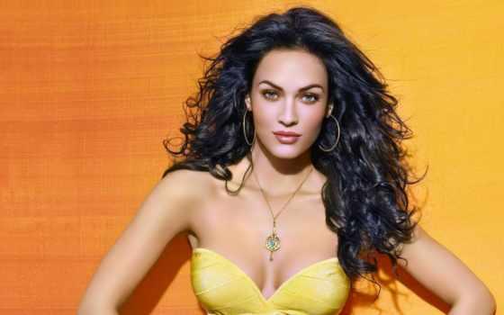 платье, макияж, жёлтое, под, волосы, меган, фокс, liveinternet,