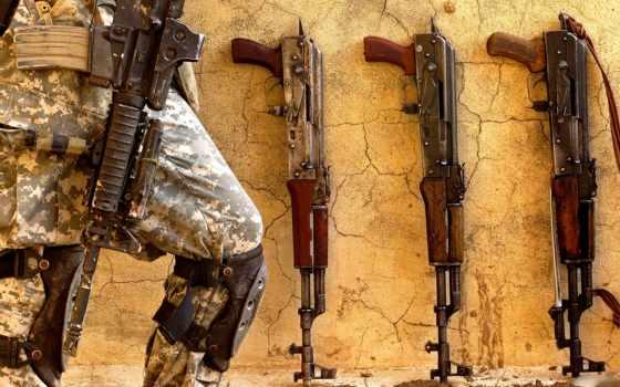 оружие, калаши Фон № 21692 разрешение 1680x1050