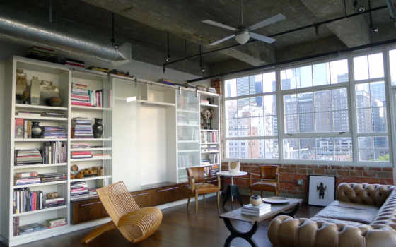 architecture, was, texas, houston, designed, loft,