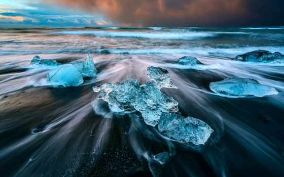 янв, заставки, ледниковая