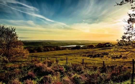 великобритания, небо, трава Фон № 134250 разрешение 1920x1080
